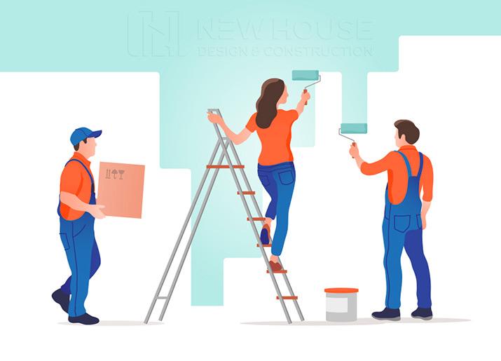 sơn và trang trí nội thất