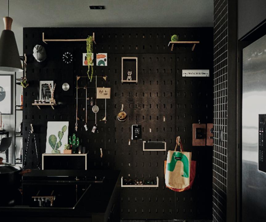Màu đen trong thiết kế