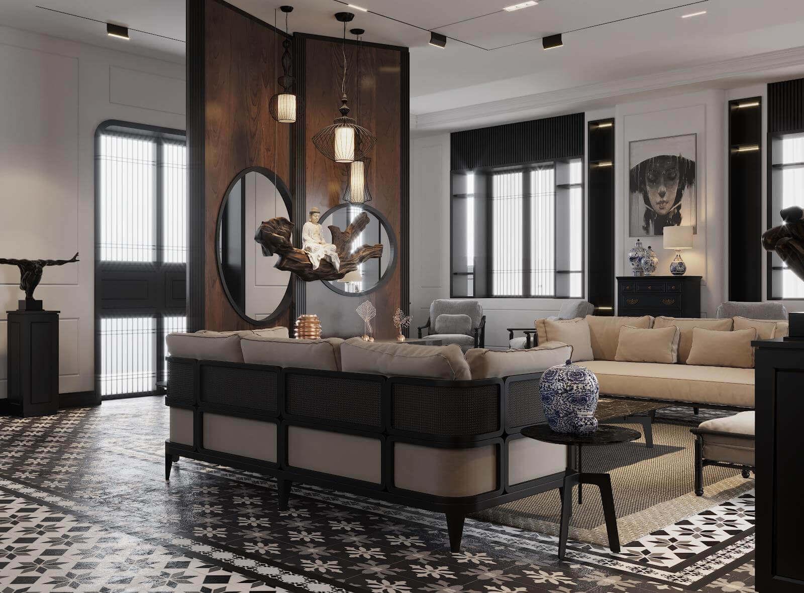 Phong cách nội thất Đông Dương - sự giao thoa văn hóa trong ngôi nhà