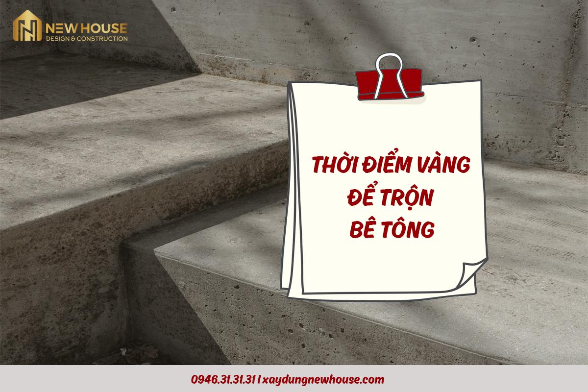 chat luong be tong tot